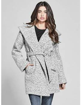 Sienna Boucle Coat by Guess