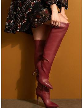 Sleek Over The Knee Boots by Guess