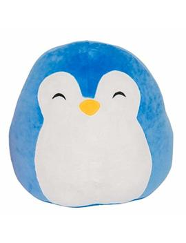 "Squishmallow Puff The Penguin Pillow Stuffed Animal, Blue, 16"" by Squishmallow"