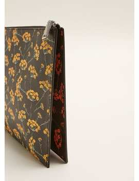 Floral Print Cosmetic Bag by Mango