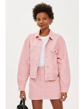 Pink Denim Co Ord Set by Topshop