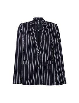 Gigi Stripe Tailored Blazer by Decjuba
