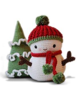 Amigurumi Crochet Snowman Pattern   Frosty The Snowman And Christmas Tree   Softie   Plush by Etsy