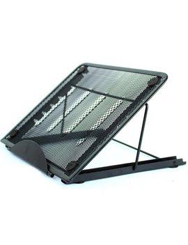 Adjustable Laptop Stand Folding Cooling Mesh Bracket Desktop Office Tablet Pad Reading Stand Heat Reduction Holder Mount Support by Yinkuu