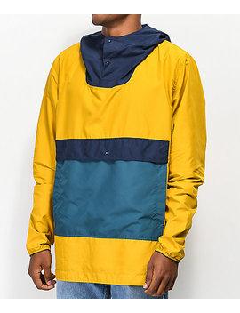 Herschel Supply Co. Voyage Yellow, Teal & Navy Anorak Jacket by Herschel Supply