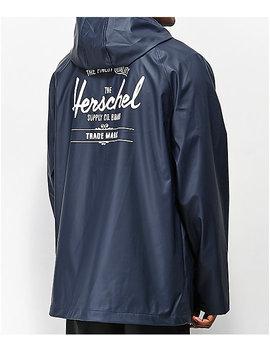 Herschel Supply Co. Rainwear Classic Navy Jacket by Herschel Supply
