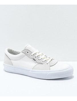 Vans Staple Style 205 White Skate Shoes by Vans