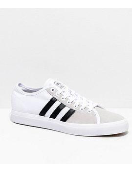Adidas Matchcourt Rx White & Black Shoes by Adidas