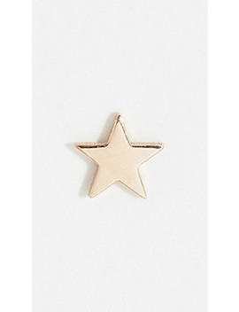 14k-single-itty-bity-star-stud-earring by zoe-chicco