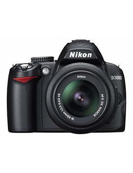 Nikon D3000 Digital Slr Camera With 18 55mm Vr Lens Kit (10.2 Mp) 3 Inch Lcd by Nikon