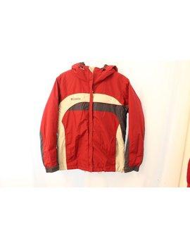 Vintage 90s Columbia Fleece Lined Coat W/ Hood   Women's M by Etsy