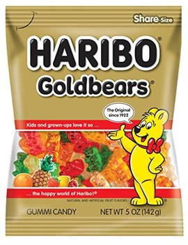 Haribo Gold Bear Gummi Candy, 5 Oz. Bags (Pack Of 12) by Haribo