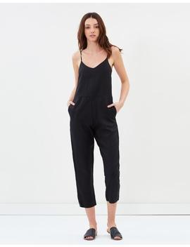 Linen Slip Jumpsuit by Assembly Label