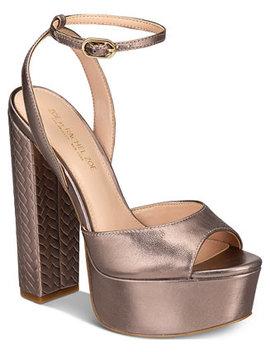 Claire Platform Sandals by Zoe By Rachel Zoe