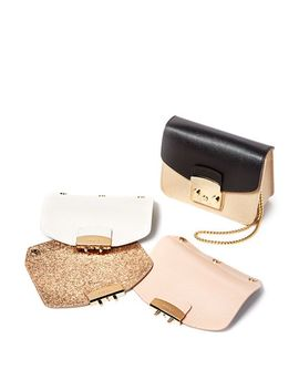 My Play Interchangeable Metropolis Mini Leather Flaps & Crossbody Bags by Furla