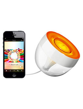 Philips Hue Living Colors Iris Colour Changing Led Mood Light, Clear by Philips
