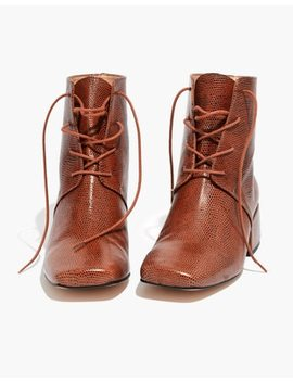 About Arianne Gabriel Lace Up Boots by Madewell