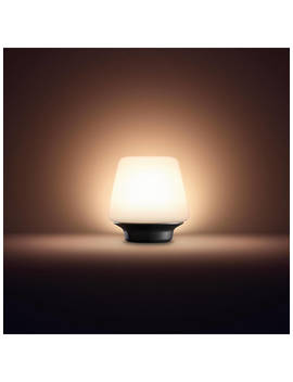Philips Hue Ambient Wellness Table Lamp, White/Black by Philips