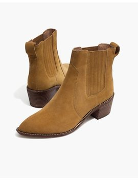 The Ramsey Chelsea Boot In Suede by Madewell
