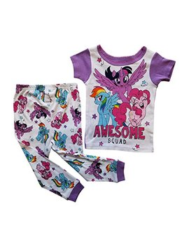 Ame My Little Pony Pajama Sleep Wear Set Toddler Girls by Ame