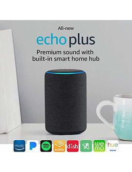 All New Echo Plus (2nd Gen) Bundle With Philips Hue Bulb   Charcoal by Amazon