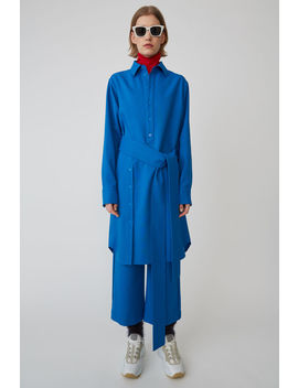 Shirt Dress Blue by Acne Studios
