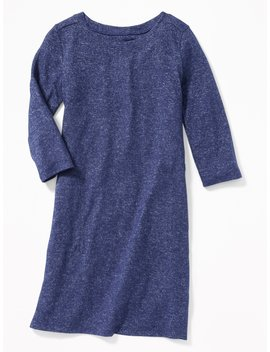 Plush Knit Shift Dress For Girls by Old Navy