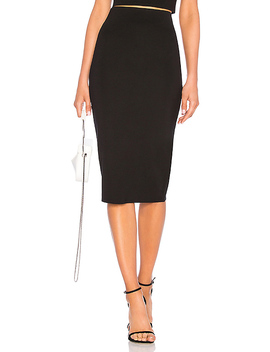 Fitted Midi Skirt by Lpa