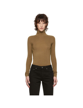 Brown Navais Turtleneck by TotÊme