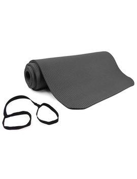 Venture Comfort Foam Exercise Mat, 12 Mm, Grey by Venture Outdoors