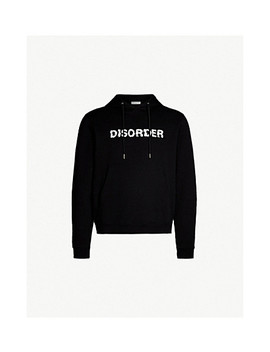 Disorder Cotton Jersey Hoody by Sandro