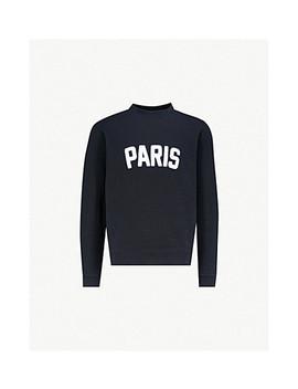 Paris Cotton Jersey Jumper by Sandro