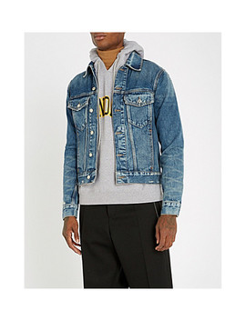Distressed Denim Jacket by Sandro