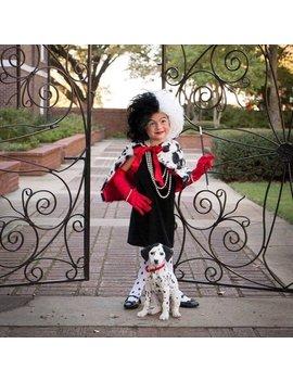 Cruella Deville Costume Bolero Shawl Scarf Cape Adult And Children's Sizes Cruela De Vil by Etsy