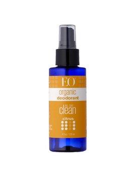 Eo Organic Spray Deodorant, Citrus, 4 Oz by Eo Products