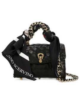 Ermanno Scervinoscarf Embellished Mini Bag Home Women Ermanno Scervino Bags Mini Bags Opyum Pumpslingerie Like Tank Topscarf Embellished Mini Bag by Ermanno Scervino