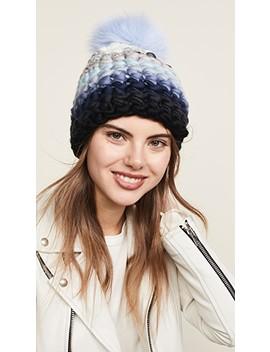 Stripe Beanie Hat by Mischa Lampert