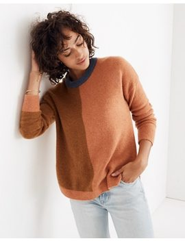 Westlake Colorblock Pullover Sweater In Coziest Yarn by Madewell