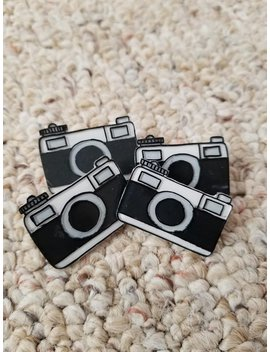 Handmade Camera Pin (Shipping Price Included) by Etsy