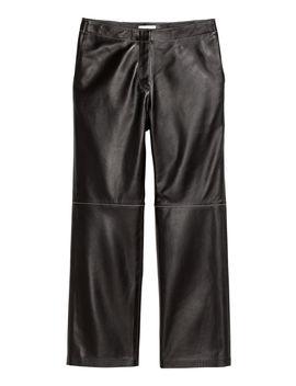 Knöchellange Lederhose by H&M