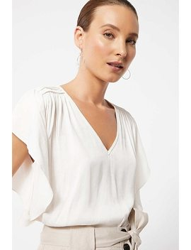 Shoulder Detail Top by Witchery