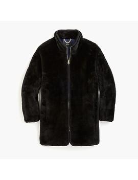 Zip Up Teddy Coat by J.Crew