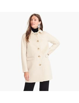 Collection Topcoat In Double Face Cashmere by J.Crew