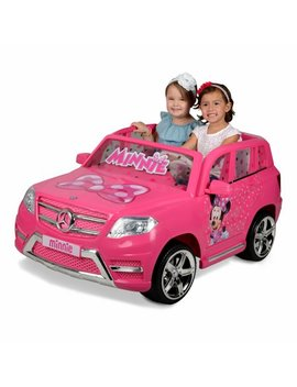 12v Minnie Mouse Mercedes Ride On by Disney Minnie Mouse