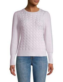 Cableknit Pullover by La Vie Rebecca Taylor