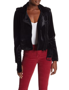 Velvet Moto Jacket by Blanknyc Denim