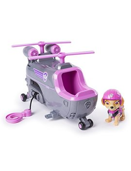 Paw Patrol Skye's Ultimate Rescue Helicopter Moving Propellers Hook by Paw Patrol