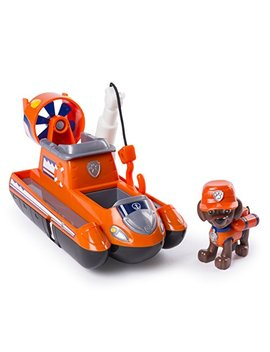 Paw Patrol Ultimate Rescue   Zuma's Ultimate Rescue Hovercraft With Moving Propellers And Rescue Hook, For Ages 3 And Up by Paw Patrol