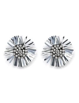 Jujia 7 Colors Za Ethnic Bohemi Tassel Drop Dangle Statement Earrings For Women Antique Crystal Flower Vintage Fringing Earrings by Jujia