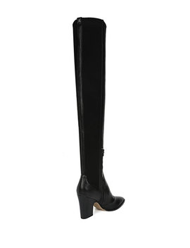 Natasha Stretch Leather Over The Knee Boots by Sam Edelman